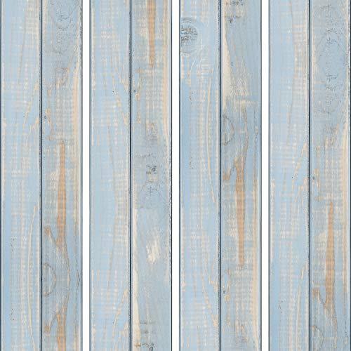murando - PURO TAPETE - Realistische Tapete ohne Rapport und Versatz 10m Vlies Tapetenrolle Wandtapete modern design Fototapete - Bretter Holz f-A-0239-j-b