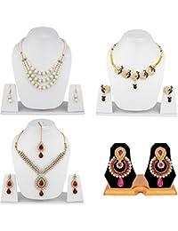 Styylo Fashion Alloy Jewel Set For Women