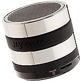 Jaytech 77002513 Bluetooth haut-parleur GP515, mini haut-parleur actif avec une qualité sonore puissante noir