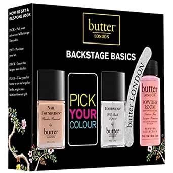 butter LONDON Backstage Basics Nagellack Set, 5-teilig