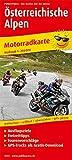 Österreichische Alpen: Motorradkarte mit Ausflugszielen, Einkehr- & Freizeittipps und...