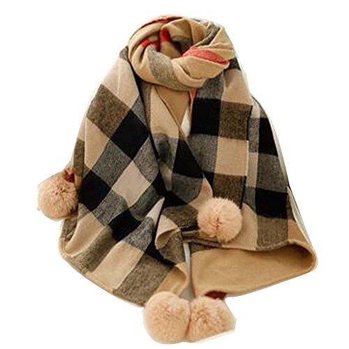 lerju-womens-fashion-imitation-of-cashmere-scarf-and-shawl-with-rabbit-hair-ball-warm-tippet-coffee