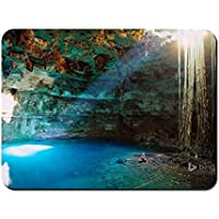 Mouse Pad - Cenote Samula Near Valladolid Yucatan Peninsula Mexico - Customized Rectangle Non-Slip