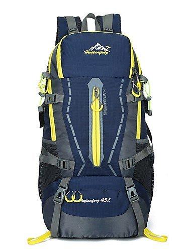 HWB/ 45 L Rucksack Legere Sport / Reisen / Laufen Draußen / Leistung Wasserdicht / Multifunktions andere Nylon N/A Orange
