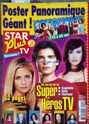 STAR PLUS TV [No 1] du 01/05/2003 - POSTER PANORAMIQUE