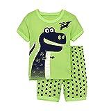 Tarkis Kinder Jungen Baumwolle Dinosaurier Schlafanzug Sets Langarm Kurzarm Nachtwäsche