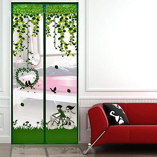 Türvorhang, magnetisch, mit gutem Schutz gegen Insekten, 100 x 210 cm