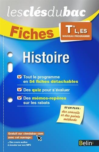 Histoire TLES, L, ES - Les Clés du Bac par Collectif