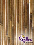Bamboo Slat Fencing Screening Garden Outdoor Screen - 4.0m x 2.0m - Primrose - amazon.co.uk
