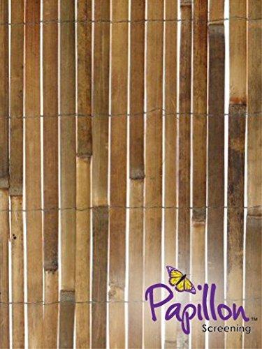 Bamboo Slat Fencing Screening Garden Outdoor Screen - 4.0m x 1.8m Test