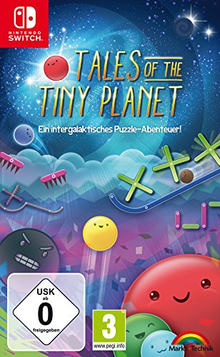 TALES OF THE TINY PLANET - Ein intergalaktisches Puzzle Abenteuer - Switch [Nintendo Switch] -