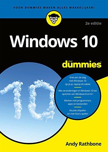 Windows 10 voor Dummies (Dutch Edition) por Andy Rathbone