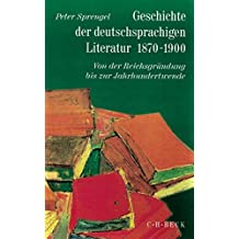 Geschichte der deutschen Literatur von den Anfängen bis zur Gegenwart, Bd.9/1, Geschichte der deutschsprachigen Literatur 1870-1900