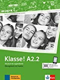 Klasse! A2.2. Übungsbuch mit Audios online: Deutsch für Jugendliche