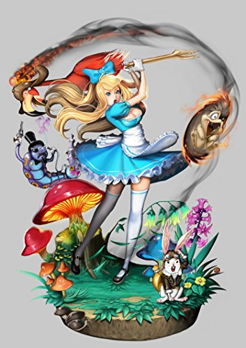 Anime Wall Calendar 2018 (12 pages 20x30cm) Alice in Wonderland Manga Anime [Calendar] [Jan 01, 2017] Pixiluv