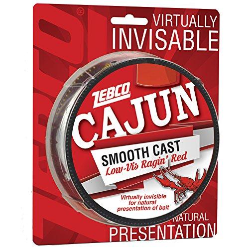 Cajun Line Zebco Cajun Low-vis Angelschnur 330yd 6Lb/Test Low-viz Watson rot, 6Lb