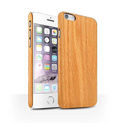 Clipser Matte Coque de Stuff4 / Coque pour Apple iPhone 5C / Acajou Design / Motif Grain de Bois Collection Pin
