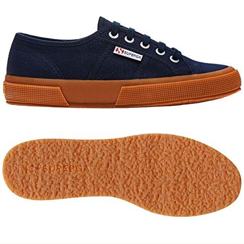 Superga 2750-cotushirt S003i10, Sneaker Unisexe Adulte Navy-white-gum