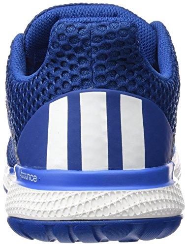 adidas Energy Bounce 2 M, Chaussures de Running Compétition Homme, 49 1/3 EU Bleu / Blanco / Bleu (Eqtazu / Ftwbla / Supazu)