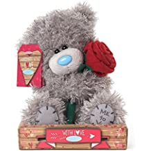 peluche ours me to you rose 16 cm