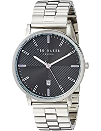 9a62be1fdf0e7 Ted Baker Men s  DEAN  Quartz Stainless Steel Casual Watch