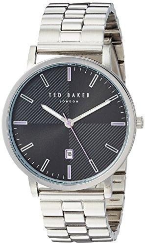 Ted Baker TE50012006 - Reloj analógico de Cuarzo con Correa de Acero Inoxidable para Hombre