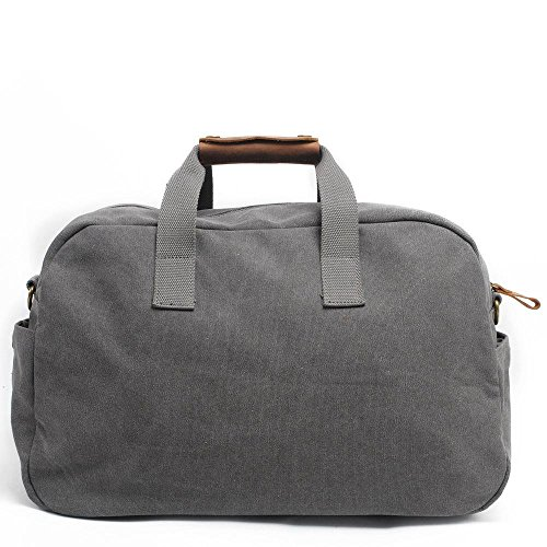 breve borsa da viaggio uomini e donne di grande capacità borsa sportiva borsa borsa di tela di forma fisica dei bagagli , army green , 19 inches dark gray