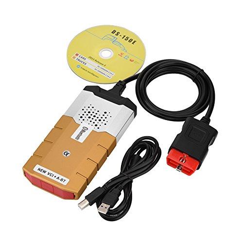 fosa KSSD0686 Lecteur de Code de Défaut Bluetooth EOBD/OBD2 Outil de Diagnostic Voiture Multimarque de VD TCS CDP Pro pour la voiture/camion