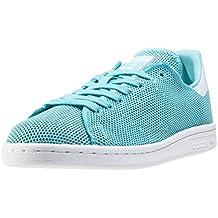 adidas Stan smith Zapatillas de deporte para mujer, mujer, verde / blanco, 41 1/3