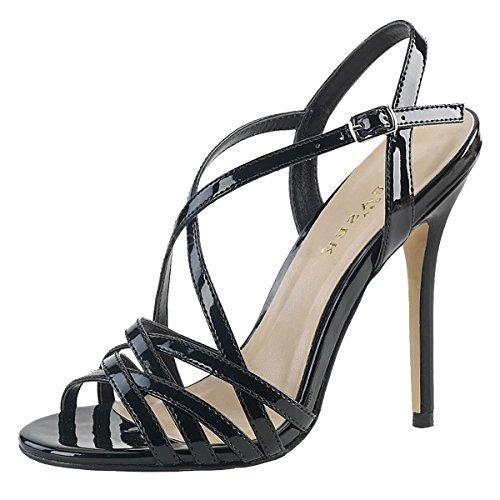 Heels-Perfect , Montantes femme Schwarz (Schwarz)