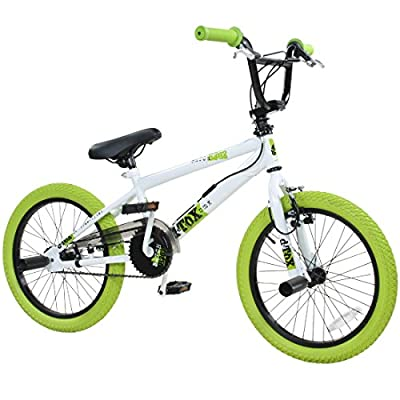 deTOX 18 Zoll BMX Freestyle Kinder BMX Anfänger 115-140 cm Fahrrad