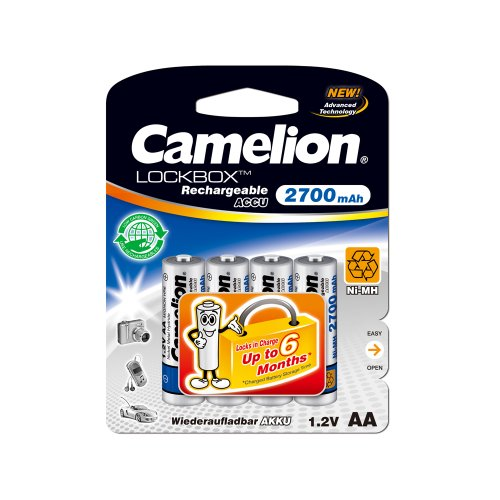 Camelion LB AA2700BP4 Rechargeable Battery