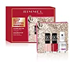 Rimmel - Confezione Regalo - Glitter Party Collection - Pochette con Set Smalti 60 Seconds e Top Coat