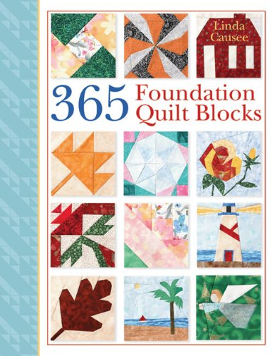 365 FOUNDATION QUILT BLOCKS por Linda Causee