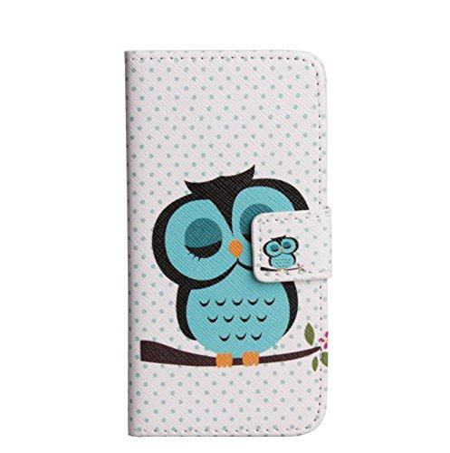 Monkey Cases® iPhone 6/6S 4,7pouces-Étui à rabat-Chouette-Premium-Original-Nouveauté-# 11