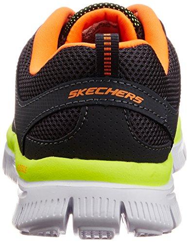 Skechers  Flex Advantage, Sneakers Basses garçon Gris (CCOR)