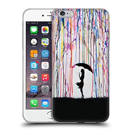 Ufficiale Marc Allante Persefone Silhouette Cover Morbida In Gel Per Apple iPhone 6 Plus / 6s Plus