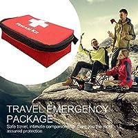 Qewmsg Reise Notfall Überleben Tasche Mini Portable Verbandskasten für Haus & Outdoor preisvergleich bei billige-tabletten.eu