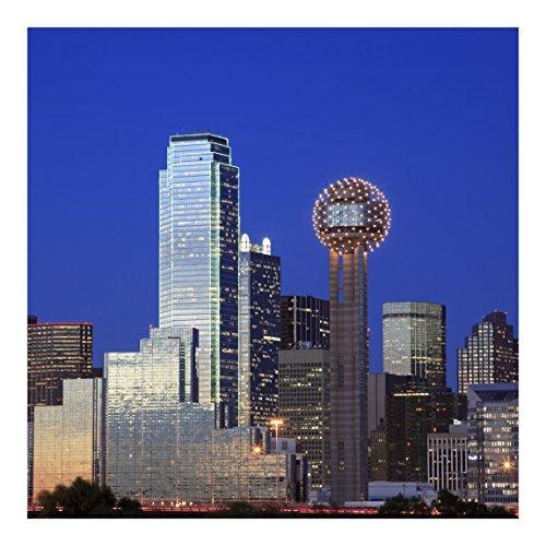 Vliestapete-Dallas-Wandbild quadratisch