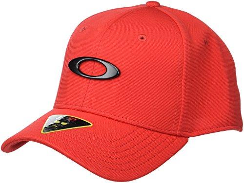 Oakley Apparel and accessories Herren TINCAN Cap Stretch Fit Hats, red, S/M
