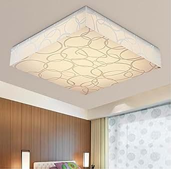 tianmin moderne acryl creative platz f hrte flush mount decke licht leuchten f r wohnzimmer. Black Bedroom Furniture Sets. Home Design Ideas