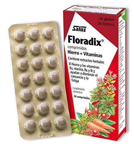 Salus Floradix, Hierro y Vitaminas, 84 comprimidos