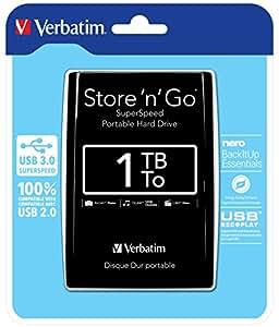 Verbatim 53023 Store 'N' GO Black HardDisk
