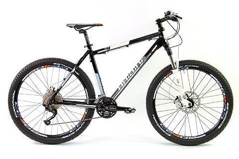 HaiBike Herren MTB Hai Attack RC 30-Gang XT Bike Schwarz RH 55 Mod.2012