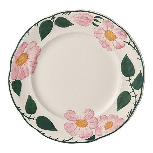 Villeroy & Boch Rose Sauvage Héritage Frühstücksteller, 21 cm, Premium Porzellan, Weiß/Bunt - Heritage Produkte Rose