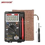 nktech nk921+ Pocket Digital Multimeter Voltmeter Mini Amperemeter DMM Ture RMS Auto Range Meter 3999Zählen AC DC Spannung Kapazität Widerstand Diode Kontinuität Test gleich Upgrade Version