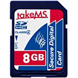 takeMS 88629 8192 Mo Carte mémoire SDHC