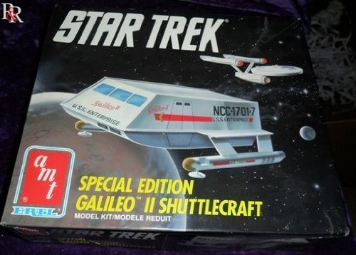 Star Trek Special Edition Galileo 2 Shuttlecraft Model Kit by Amt Ertl
