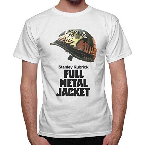 T-Shirt Uomo Locandina Elmetto Full Metal Jacket