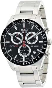 Tissot Men's PRS 516 Silver/Black Chronograph Bracelet Watch T0444172105100